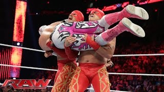 getlinkyoutube.com-The Lucha Dragons vs. Los Matadores: Raw, July 27, 2015