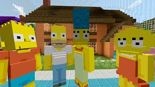 getlinkyoutube.com-Minecraft Xbox - Survival Madness Adventures - The Simpsons Springfield [252]