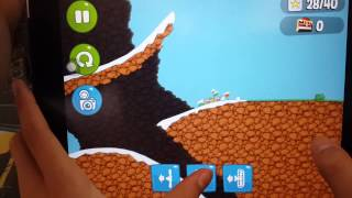 getlinkyoutube.com-Bad Piggies good vechicle for Little Pig Adventure