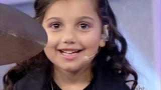 getlinkyoutube.com-Eduarda Henklein (6 Years) no programa Raul Gil