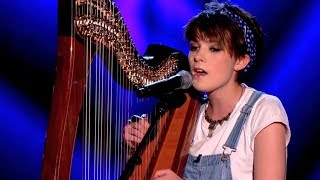 getlinkyoutube.com-Anna McLuckie performs 'Get Lucky' by Daft Punk - The Voice UK 2014: Blind Auditions 1 - BBC One