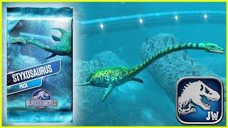 getlinkyoutube.com-Styxosaurus Level 30!!!   Jurassic World - The Aquatic Park   #11