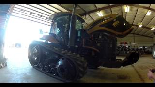 Cat Challenger MT765C Tractor day it arrived on the farm 10-8-13