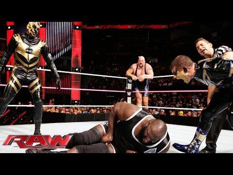 Mark Henry & Big Show vs. Gold & Stardust - WWE Tag Team Championship Match: Raw, Oct. 27, 2014
