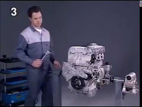 Opel Vectra 2 2L установка фаз ГРМ