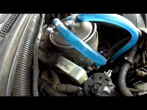 Nissan Pathfinder. Воздух в системе