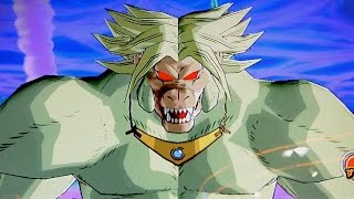 Dragon Ball Heroes - JM7 Golden Great Ape Broly Gameplay
