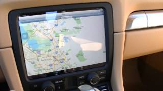 getlinkyoutube.com-Porsche iCar - Apple iPad Installed in 2014 Porsche Boxster 981