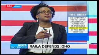 News Sources: - Raila defends Joho - 29/3/2017 [Part Two]