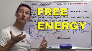 getlinkyoutube.com-EEVblog #708 - Free Energy Overunity BULLSHIT!