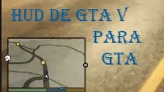 getlinkyoutube.com-Descargar Hud oficial de GTA V para GTA San Andreas
