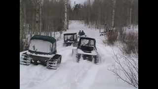 getlinkyoutube.com-Argo 8x8s with snow tracks riding in Wyoming