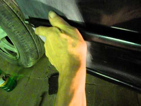 Kia spectra. Как снять дверной молдинг. Кузовной ремонт.