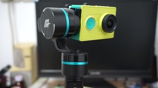getlinkyoutube.com-Xiaomi Yi HD Action Sports camera on GoPro 4 Handheld Gimbal