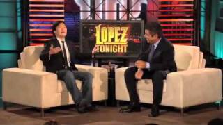 Lopez Tonight Ken Jeong Outs the Transformers!