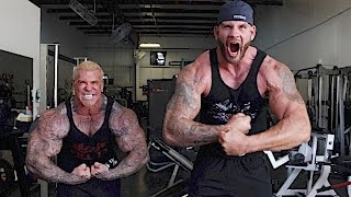 "getlinkyoutube.com-7' FOOT 318 LBS - MATT ""THE BLUEPRINT"" MORGAN - WWE WRESTLER - 5%ER - MONSTER"