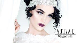 getlinkyoutube.com-VINTAGE MEMORIES - Vintage inspired Bridal Look