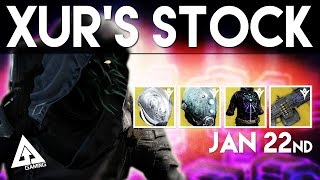 getlinkyoutube.com-Destiny Xur January 29th - Xur's Location & Stat Rolls | Destiny The Taken King Exotics