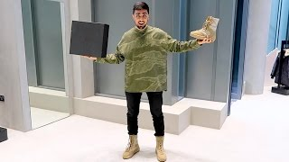 getlinkyoutube.com-KANYE WEST $2500 OUTFIT !!!