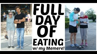 Full Day of Eating w/ My Grandmother! (Memere)