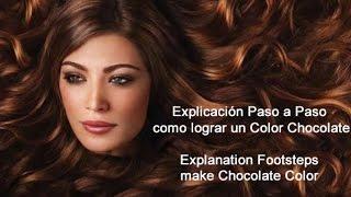 getlinkyoutube.com-Como Lograr un Chocolate - How to make a Chocolate Color