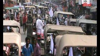 भाकियू का सड़कों पर प्रदर्शन,  रूड़की में किया चक्का जाम