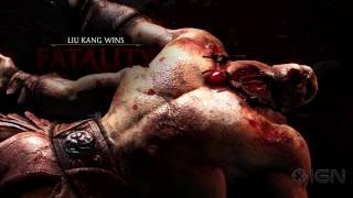 getlinkyoutube.com-Mortal Kombat X: All Fatalities and X-Rays in 1080p 60fps