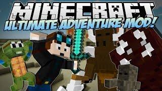 getlinkyoutube.com-Minecraft | ULTIMATE ADVENTURE MOD! (Meet Timmy the Adventure Turtle!) | Mod Showcase