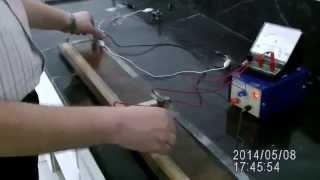 getlinkyoutube.com-تجربة القنطرة المترية .Meter bridge exp