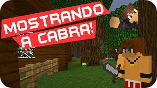 getlinkyoutube.com-Minecraft: Mo Creatures - Desafio Mostrando a Cabra! #18