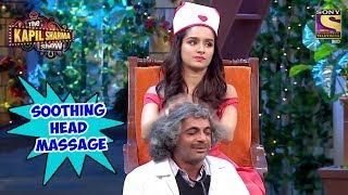 Shraddha Oils Gulati's Hair - The Kapil Sharma Show
