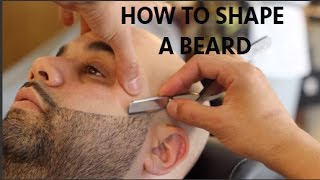 getlinkyoutube.com-How To Line A Beard Step By Step | Beard Tutorial