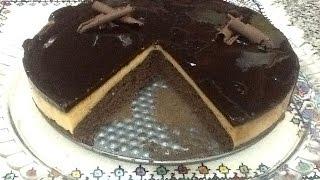 كيكة اقتصادية بالشوكولاتة و القهوة خفيفة ، سهلة ورائعة  Cake au Café et Chocolat