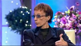 getlinkyoutube.com-Robin Gibb interview - singing with The Soldiers - 27/10/2011