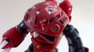 getlinkyoutube.com-RG 1/144 MSM-07S Z'GOK シャア専用ズゴック 改 LED 機動戦士ガンダム