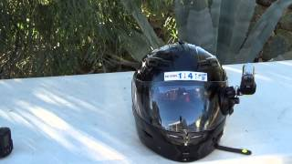 getlinkyoutube.com-Sony Action Camera HDR-AS20 Moto Vlog Helmet Setup