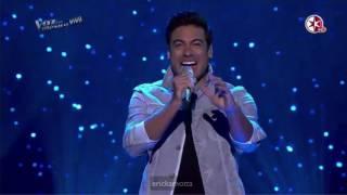"""getlinkyoutube.com-Carlos Rivera canta """"Como Pagarte"""" con Team Sanz"""