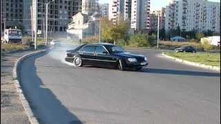 "getlinkyoutube.com-""Mercedes-Benz S600L 7.0 AMG"" Drift ""NeedForDrive.com"""