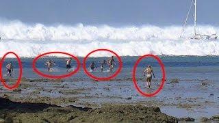 getlinkyoutube.com-TOP 3 Tsunami Caught On Camera  | Biggest Tsunami in the world