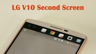 getlinkyoutube.com-LG V10: Second Screen Review and Full Tutorial