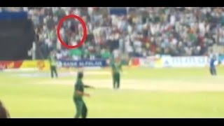 getlinkyoutube.com-Ghost caught on tape in cricket match::: Real Ghost footage Scary Videos