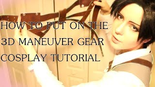 getlinkyoutube.com-LEVI SHOWS HOW TO PUT 3DMG ON(Harness belts)(Actual Tutorial) Attack On Titan/Shingeki No Kyojin