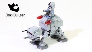 getlinkyoutube.com-Lego Star Wars 75075 AT-AT - Lego Speed Build