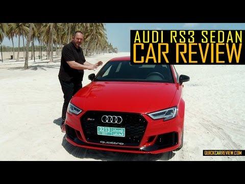 CAR REVIEW: 2018 Audi RS3 Sedan Test Drive