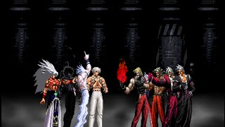 Orochi Team VS. Rugal Team
