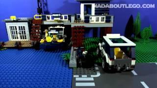 getlinkyoutube.com-LEGO CITY SWAMP POLICE STATION 60069