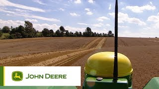 The new John Deere T-series combines: ConnectedCombine
