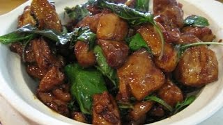 getlinkyoutube.com-How to Cook Three Cup Chicken (San Bei Ji) - Easy Chinese Recipes