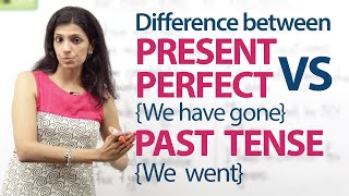 getlinkyoutube.com-Present Perfect tense (We have gone) and Simple past tense (we went) – English Grammar Lesson