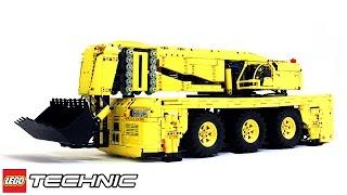 getlinkyoutube.com-Lego Technic Pneumatic Rock Loader / Лего Техник Карьерный Погрузчик